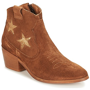 kengät Naiset Bootsit André CELESTE Camel