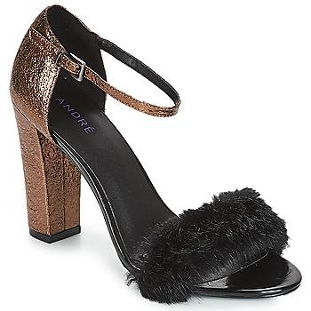 kengät Naiset Sandaalit ja avokkaat André WANDA Black