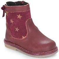 kengät Tytöt Bootsit André PARME Viininpunainen