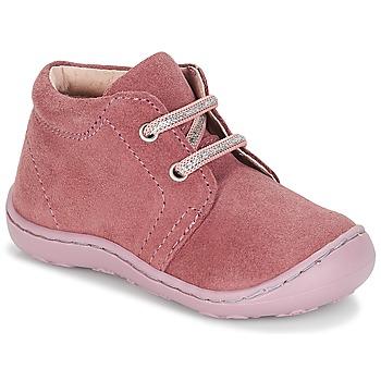 kengät Tytöt Bootsit André PALE Pink