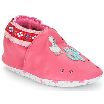 kengät Tytöt Vauvan tossut André PERUVIENNE Pink