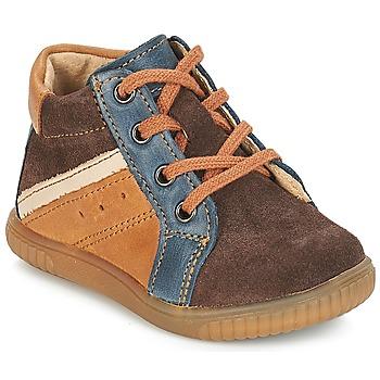 kengät Pojat Bootsit André W Ruskea