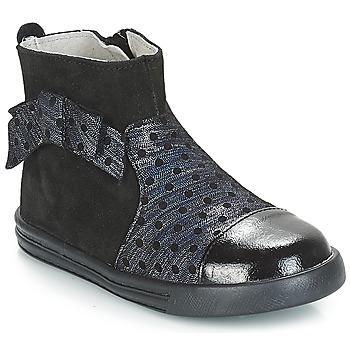kengät Tytöt Bootsit André NUIT Black