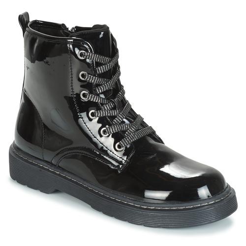 kengät Tytöt Bootsit André ROCKABILLY Black
