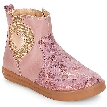 kengät Tytöt Bootsit André MAUVE Pink