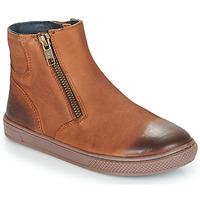 kengät Pojat Bootsit André CUMIN Brown