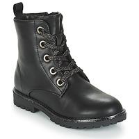 kengät Tytöt Bootsit André CLAPTON Black