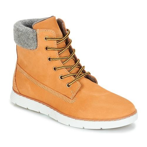 kengät Pojat Bootsit André TROTTEUR Yellow
