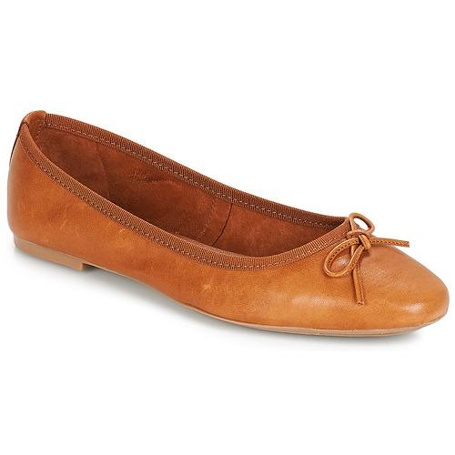 kengät Naiset Balleriinat André PIETRA Brown