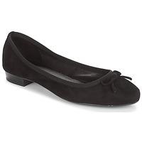 kengät Naiset Balleriinat André CINDY Black