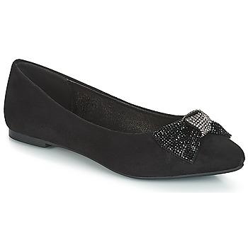 kengät Naiset Balleriinat André FAUTIVE Musta