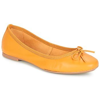 kengät Naiset Balleriinat André PIETRA Yellow