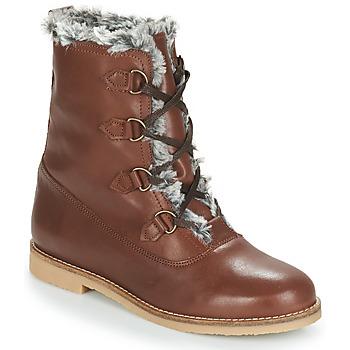 kengät Naiset Bootsit André CHAMONIX Brown