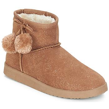 kengät Naiset Bootsit André TOUCHOU Ruskea