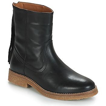 kengät Naiset Bootsit André THEO Musta