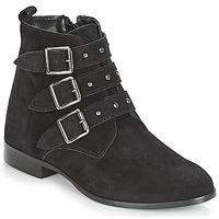 kengät Naiset Bootsit André TIRA Musta