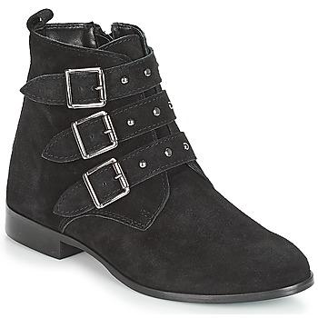 kengät Naiset Bootsit André TIRA Black