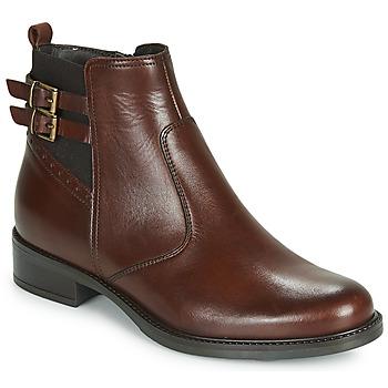 kengät Naiset Bootsit André CARLIN Brown