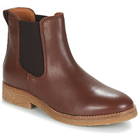 kengät Naiset Bootsit André THELA Brown