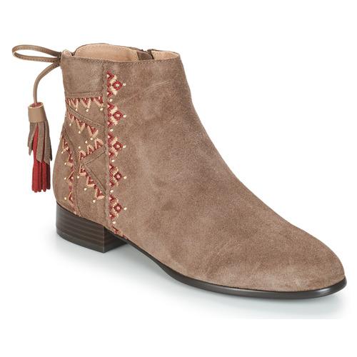 kengät Naiset Bootsit André TSAR Beige