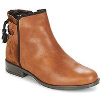 kengät Naiset Bootsit André TITOL Brown