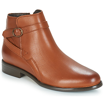 kengät Naiset Bootsit André TACOS Brown