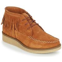 kengät Naiset Bootsit André TANVI Brown