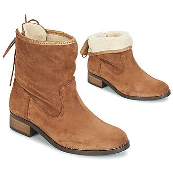 kengät Naiset Bootsit André TELEX Brown