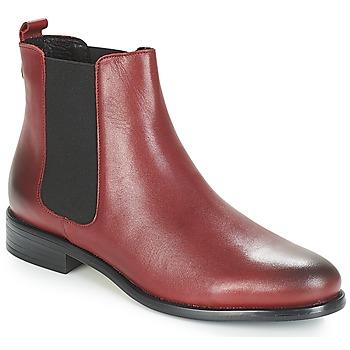 kengät Naiset Bootsit André CARAMEL Red