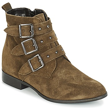 kengät Naiset Bootsit André TIRA Green
