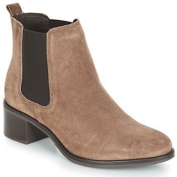 kengät Naiset Bootsit André CRUMBLE Beige