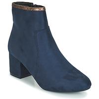 kengät Naiset Bootsit André FALOU Blue