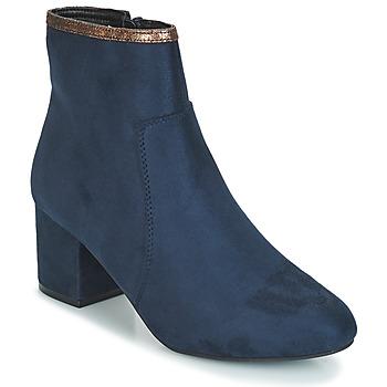 kengät Naiset Bootsit André FALOU Sininen
