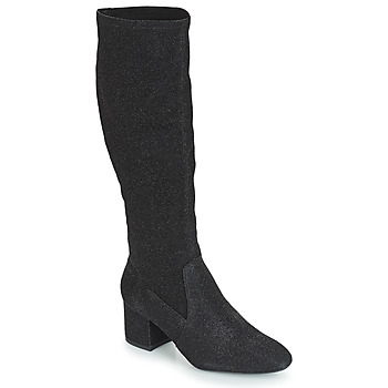 kengät Naiset Saappaat André FARFELUE Black / Paljetti