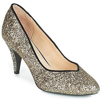kengät Naiset Korkokengät André ANGELIE Gold