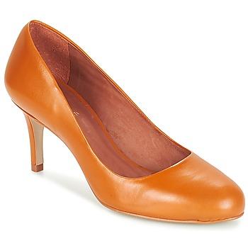 kengät Naiset Korkokengät André FLAVIE Brown / Orange