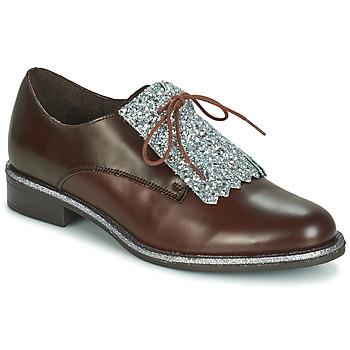 kengät Naiset Derby-kengät André FATOU Brown