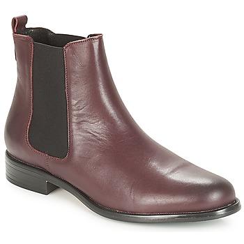 kengät Naiset Bootsit André CARAMEL Bordeaux