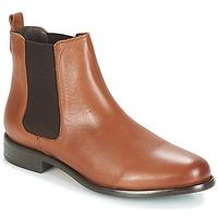 kengät Naiset Bootsit André CARAMEL Brown