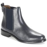 kengät Naiset Bootsit André CARAMEL Blue