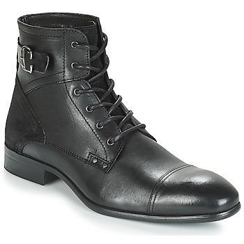 kengät Miehet Bootsit André PHILIPPE Black