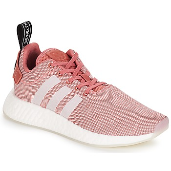 kengät Naiset Matalavartiset tennarit adidas Originals NMD R2 W Pink