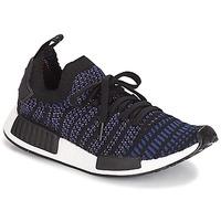 kengät Naiset Matalavartiset tennarit adidas Originals NMD R1 STLT PK W Musta