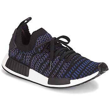 kengät Naiset Matalavartiset tennarit adidas Originals NMD R1 STLT PK W Black