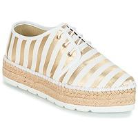kengät Naiset Espadrillot André ZEBRE White