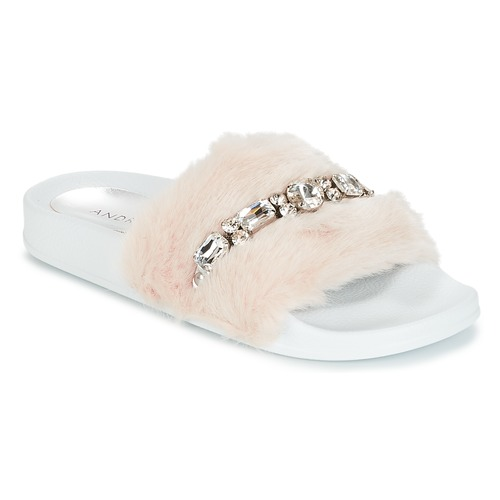 kengät Naiset Rantasandaalit André DIADEME White