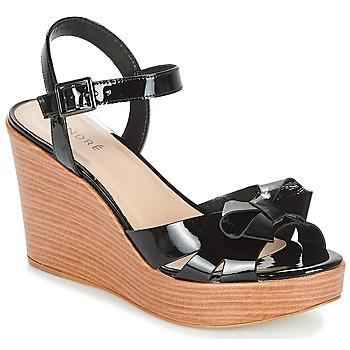 kengät Naiset Sandaalit ja avokkaat André DOME Black