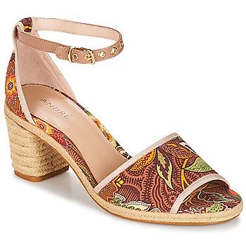 kengät Naiset Sandaalit ja avokkaat André JAKARTA Multicoloured