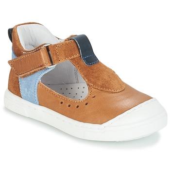 kengät Tytöt Balleriinat André SARBACANE Camel