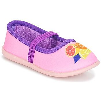 kengät Tytöt Balleriinat André CITRONNADE Pink